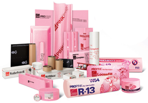 Owens Corning Residential Insulation Products