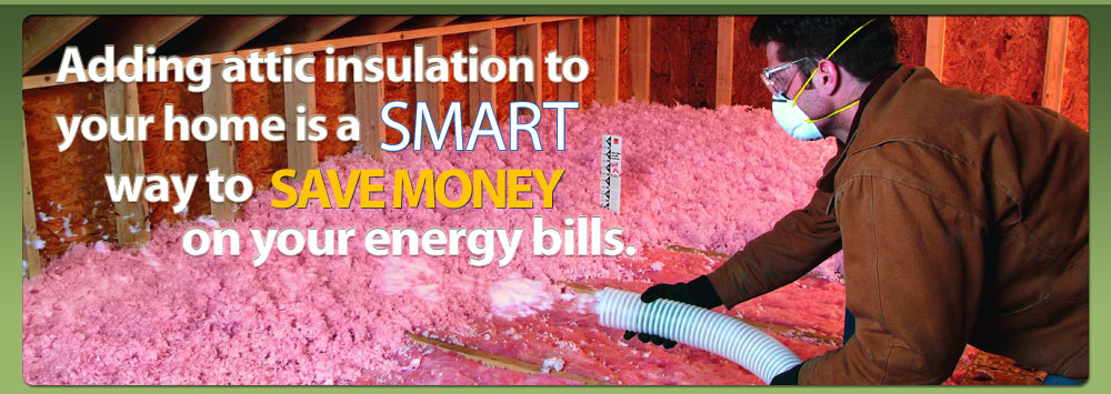 Attic Blow Insulation